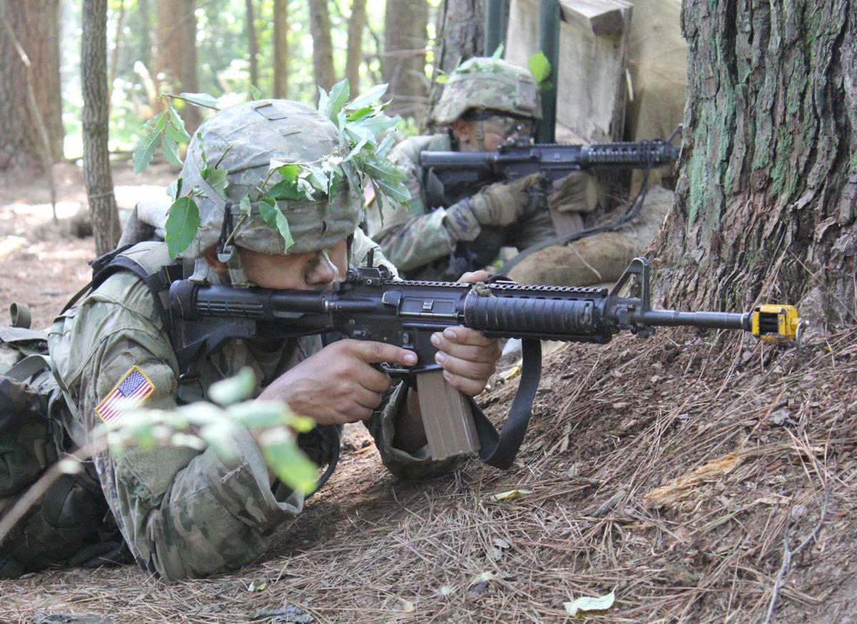 Cadets spend 14 days outdoors