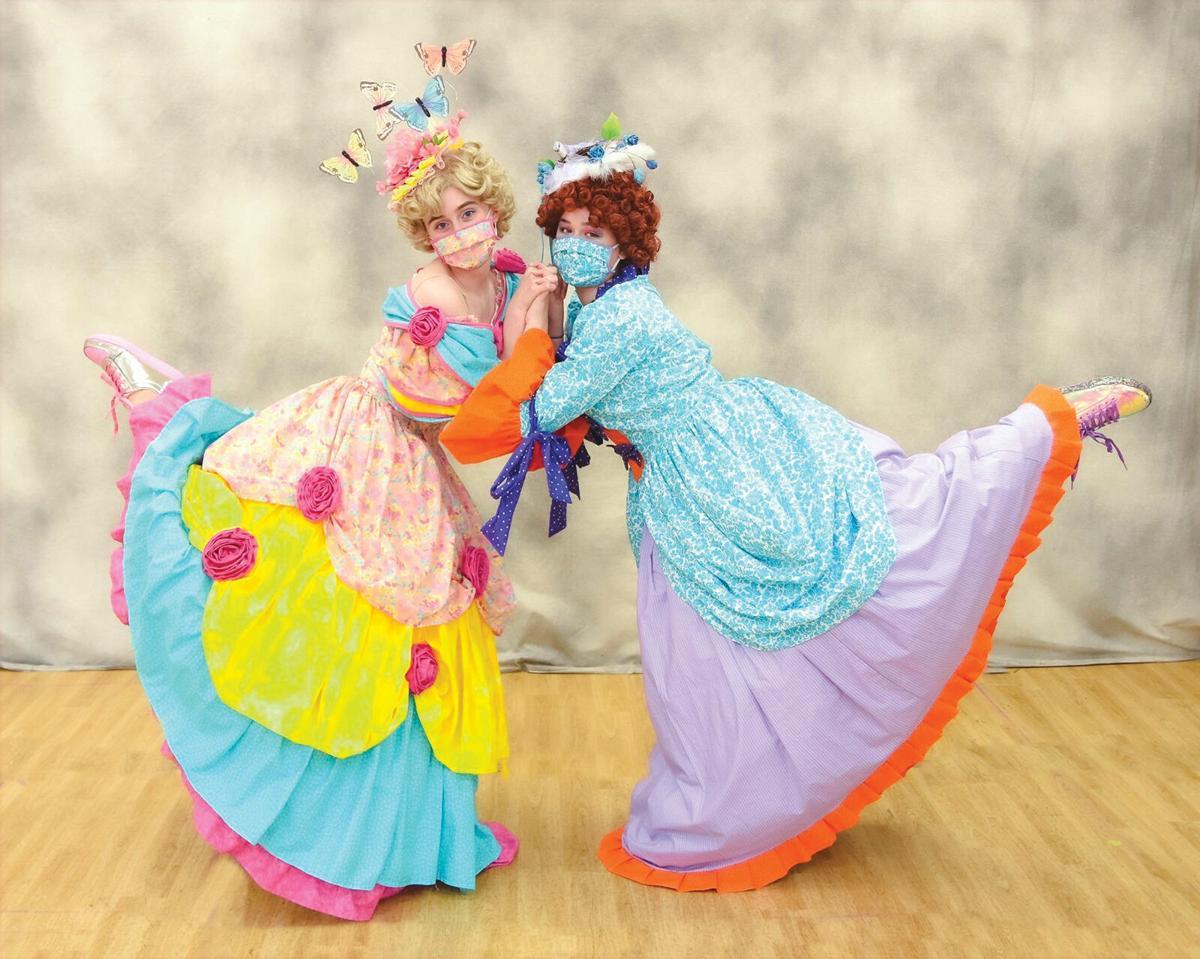The glass slipper fits for Allegro's 'Cinderella'