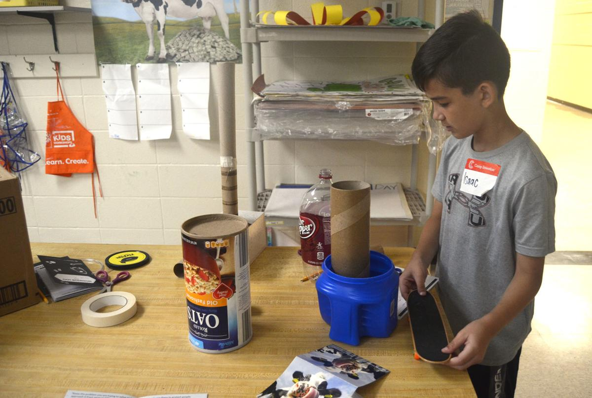 Students learn hands-on at camp over summer vacation