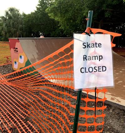 Skate Ramp Closed