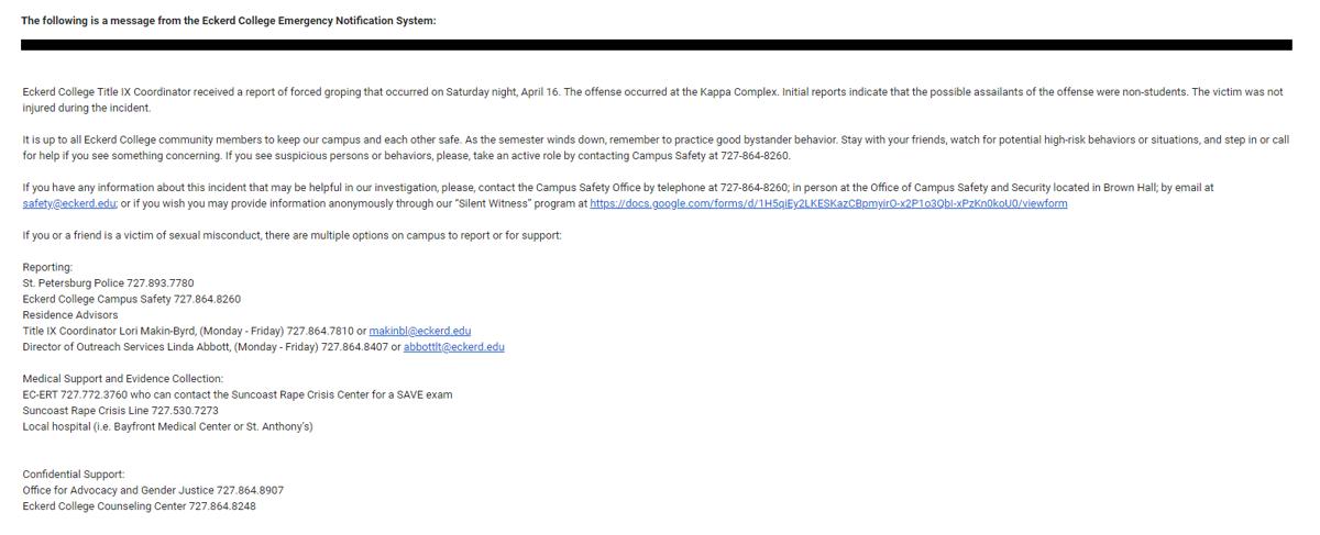 Burglaries Email