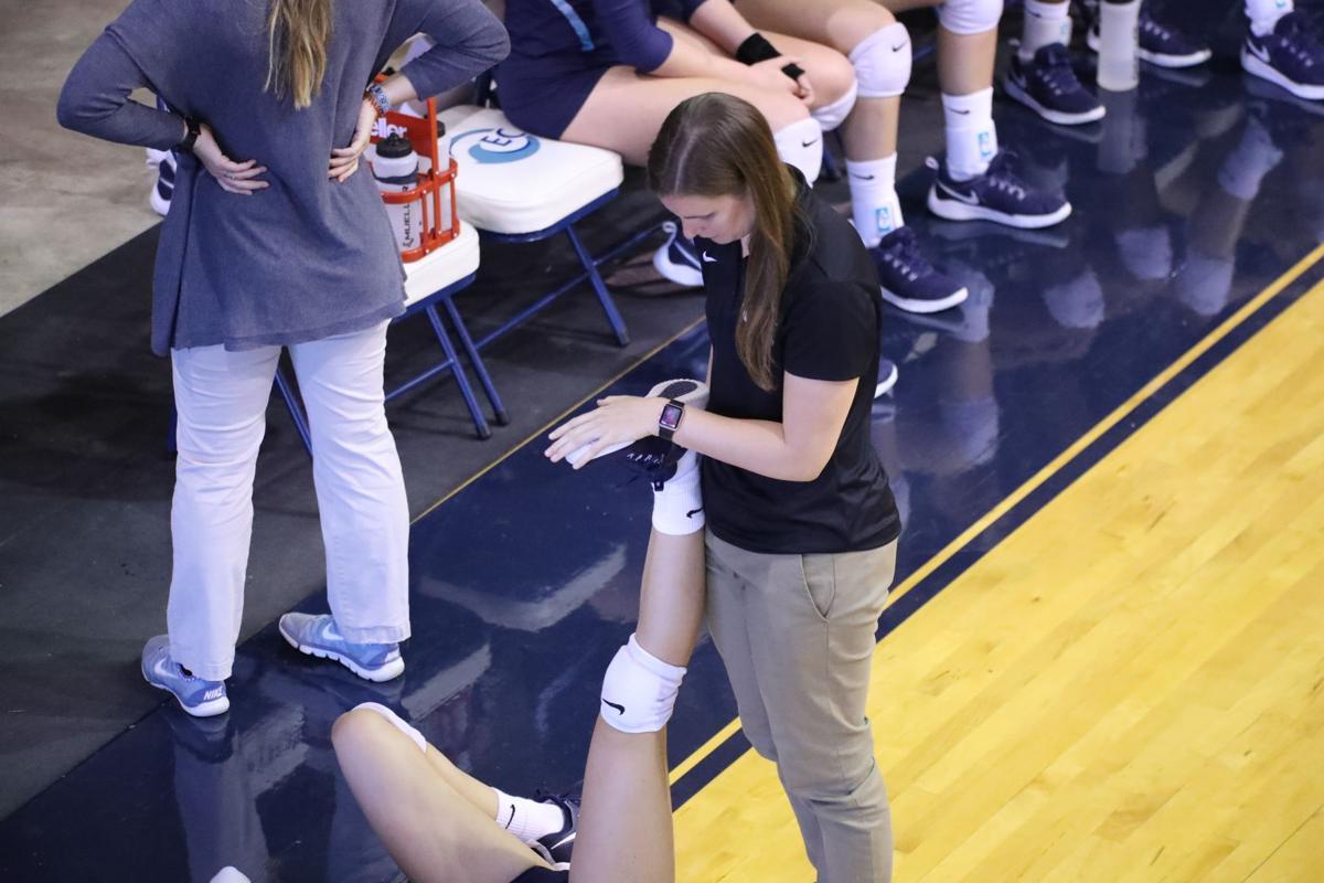 Nicole Shutz athletic trainer
