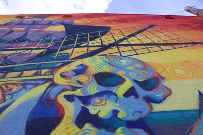 2019 SHINE Mural Festival Close Up