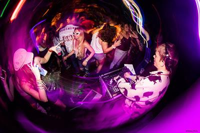Trigg Hurley DJ at Flamingo Resort