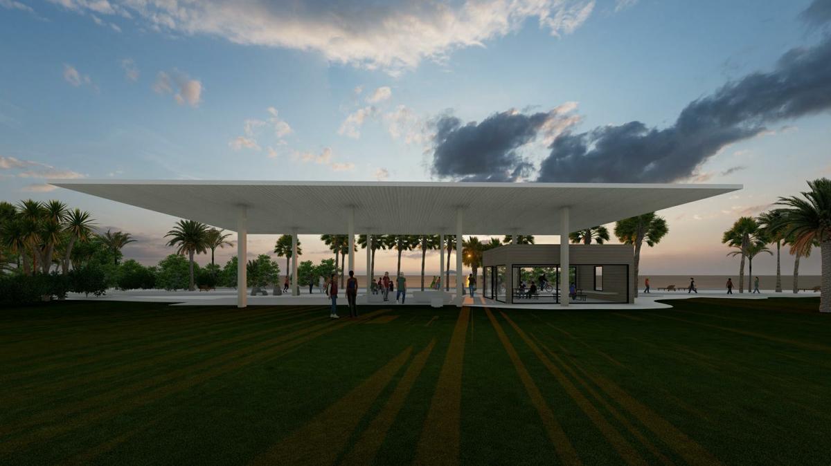 South Beach Pavilion Graphic