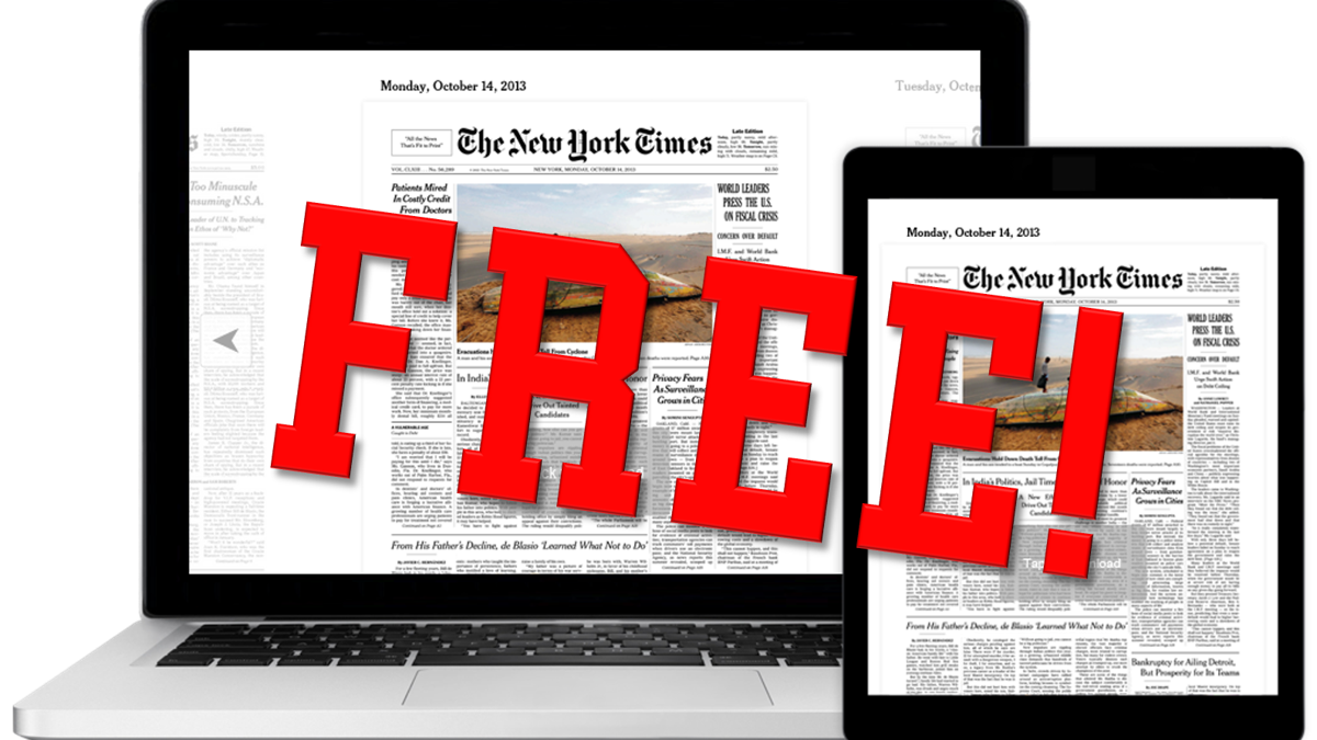 Eckerd gets free 'New York Times' subscription