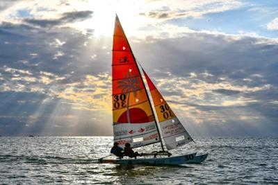 Katherine Porter Sailing on Water
