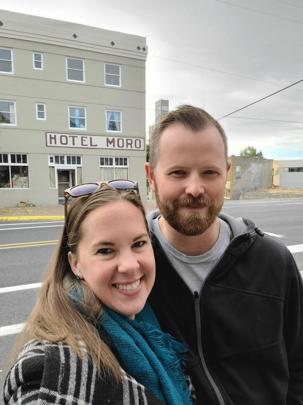 Amanda and Travis West