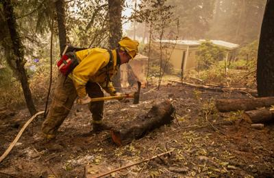 Conflagration illustrates steps to fighting wildfires