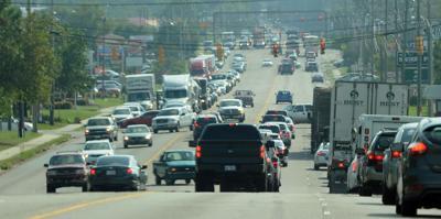 Traffic Along U.S. 1