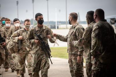 Paratroopers return to Fort Bragg