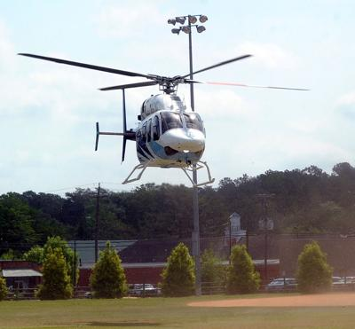 UNC helicopter