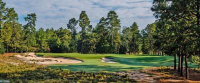 Pinehurst No. 2 hole No. 9