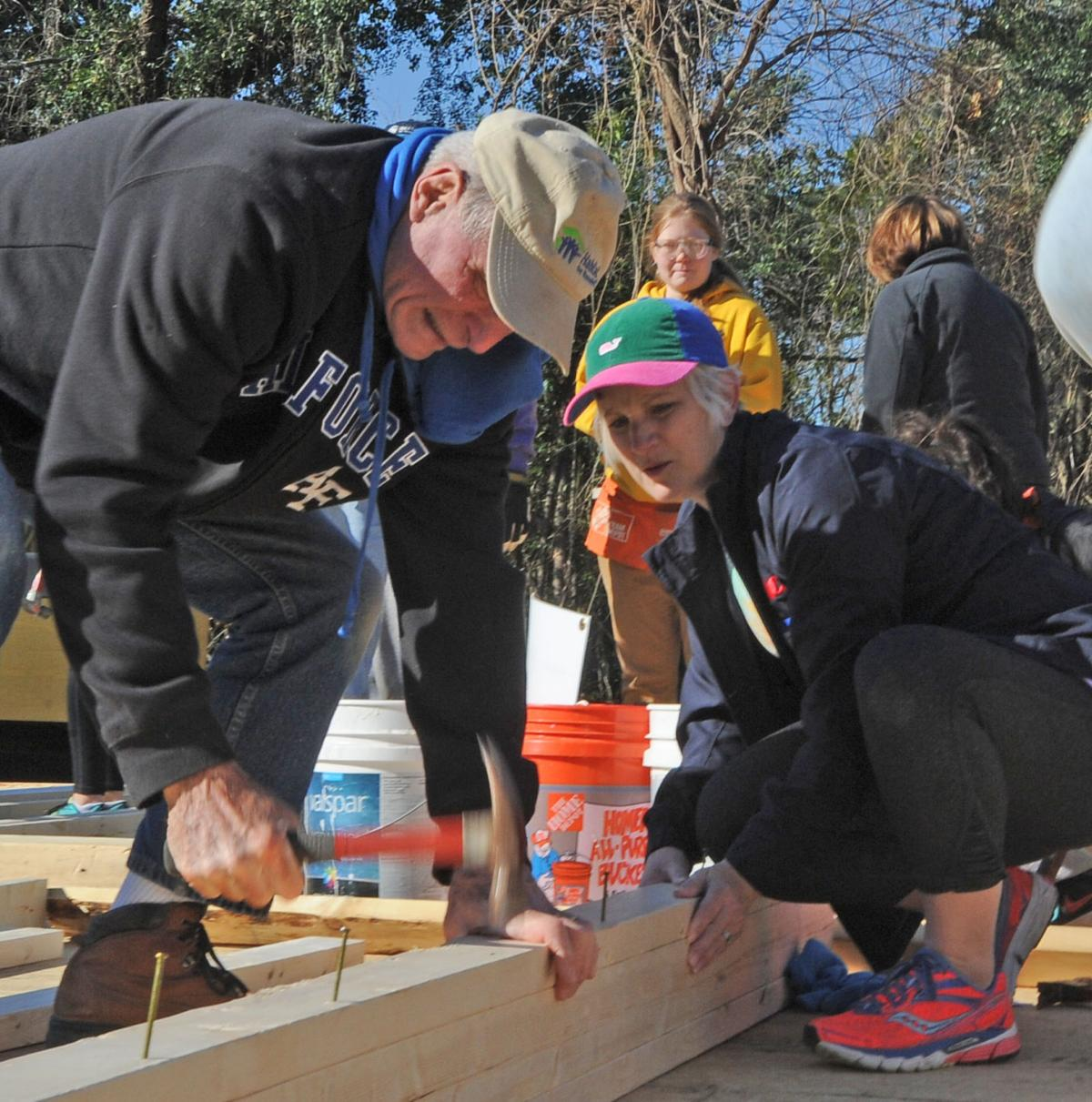 Habitat For Humanity Dedication And Ceo Build Gallery