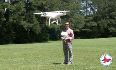 NCDOT drone