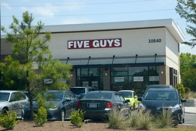 Five Guys new location