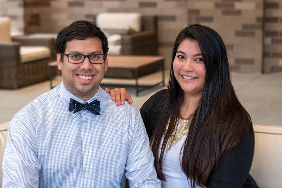 Kevin and Sheena Patel