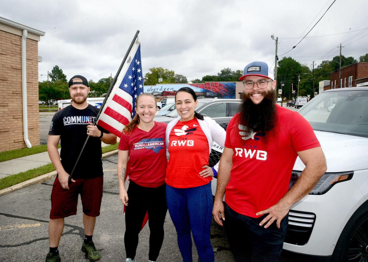 Old Glory Relay team