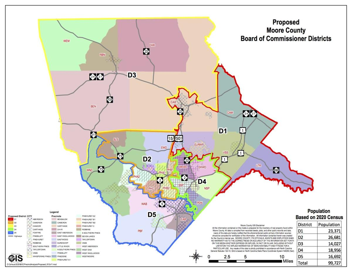 2020 Election Map Residency Districts