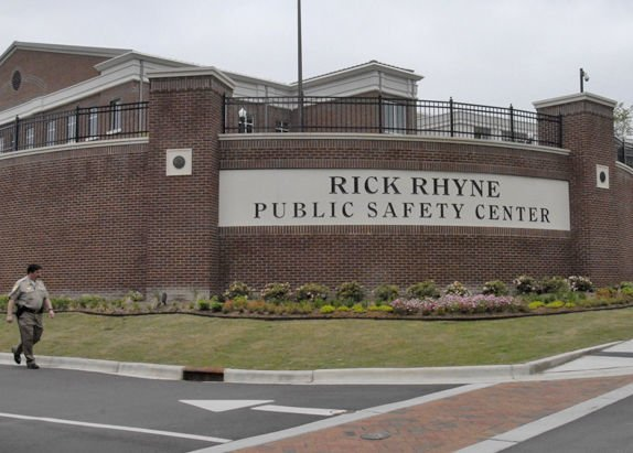 The Moore County jail is part of the Rick Rhyne Public Safety Center in Carthage