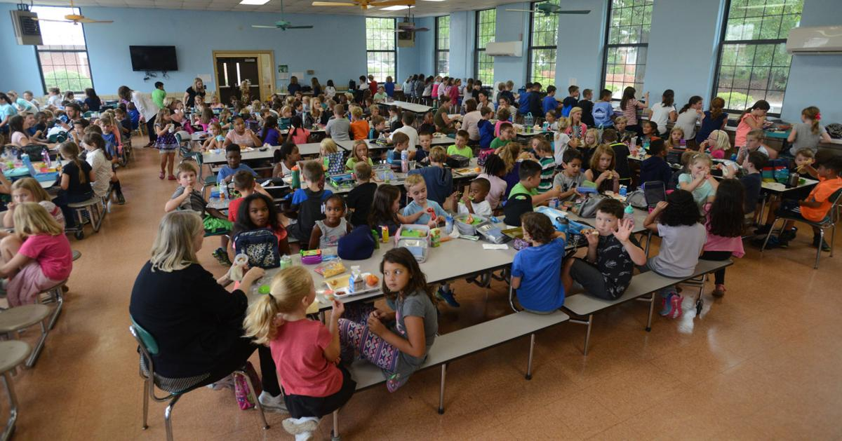 In Moore County, Education is a Growth Industry | News ... Crowded High School Cafeteria