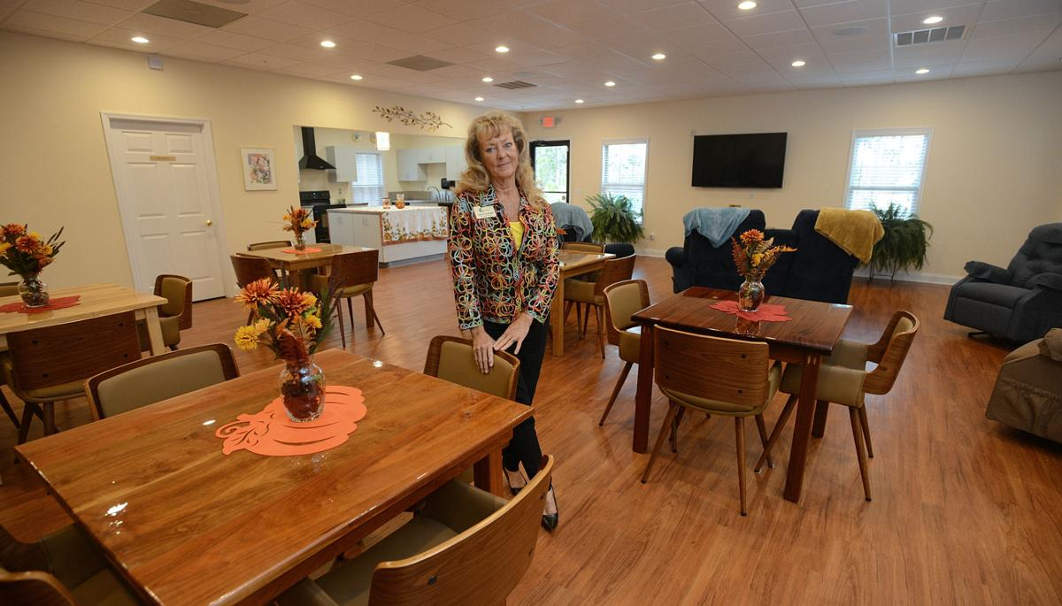 Kathryn Doddridge at The Retreat , a newly opened senior day care facility  in Aberdeen.