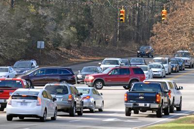 Traffic at 15-501 and Morganton Road