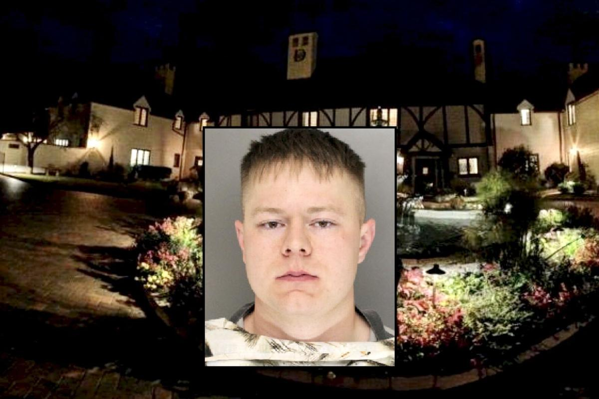 Jacob Lee, inset, pleaded guilty to assaulting the married couple that owns Duncraig Manor.