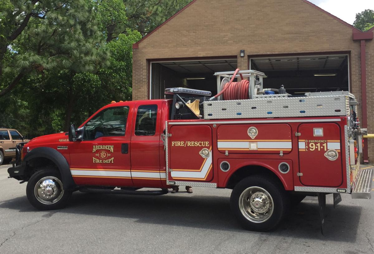 New Aberdeen Fire Truck to Tackle Medical Calls, Accidents