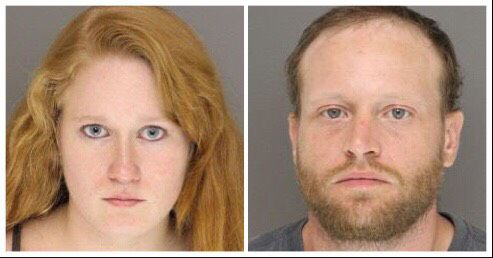 Heather Lynn Chastain, left, and Jeremy Justin Holder