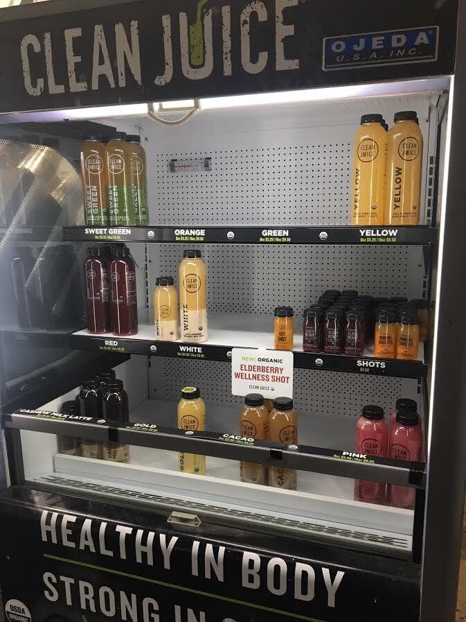 Clean Juice cold case