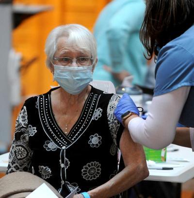 Patricia Komorowski vaccine recipient