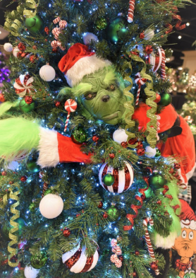 Festival of Trees Grinch 2020