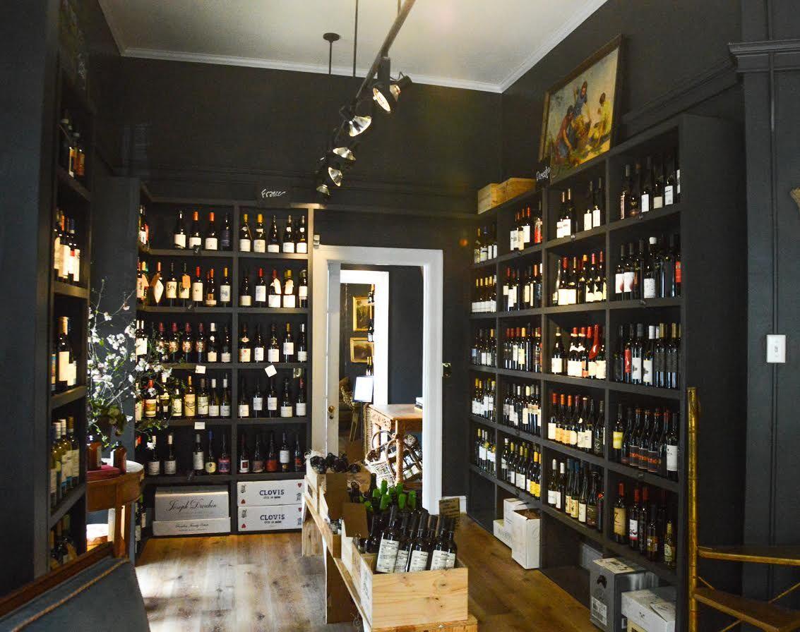 Village Wine Shop interior