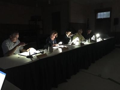 SP Planning Board in the Dark
