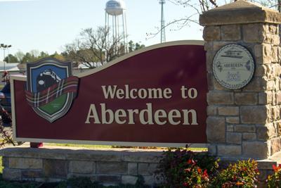 TEASER Aberdeen, Town Sign