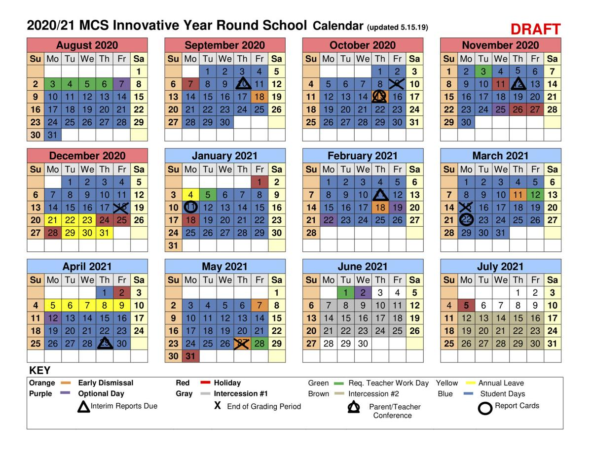Photos of Moore County Schools Calendar 2021