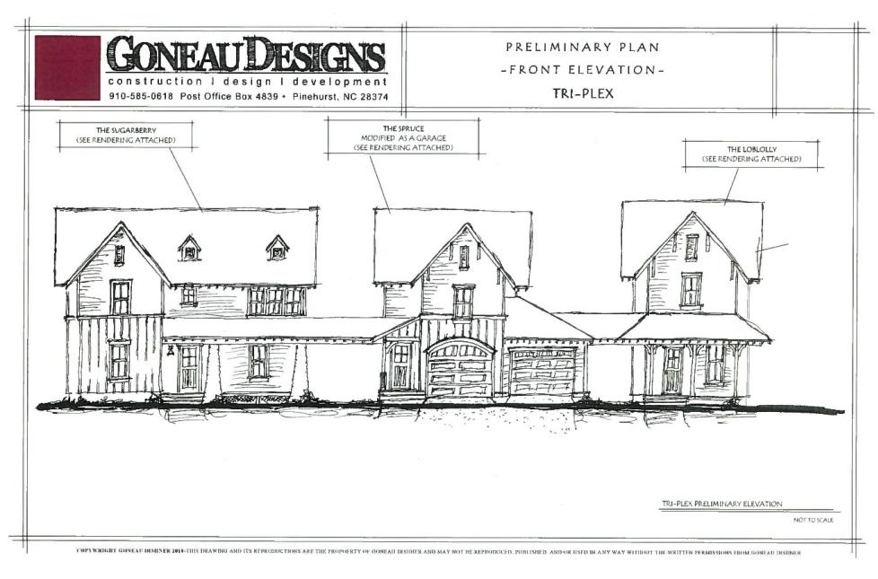 Goneau Townhouse Design