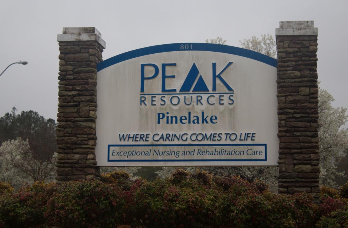 Peak Resources Pinelake is located on Pinehurst Avenue in Carthage.