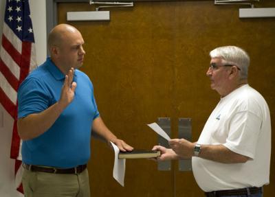 Robbins Officer Sworn In