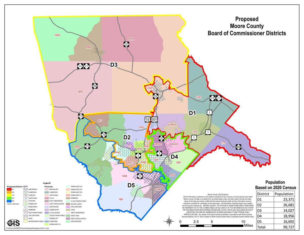 2020 Residency District Map