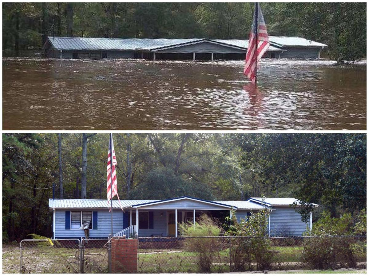 Flooding Before and After