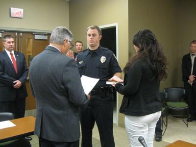 Officer Swearing In