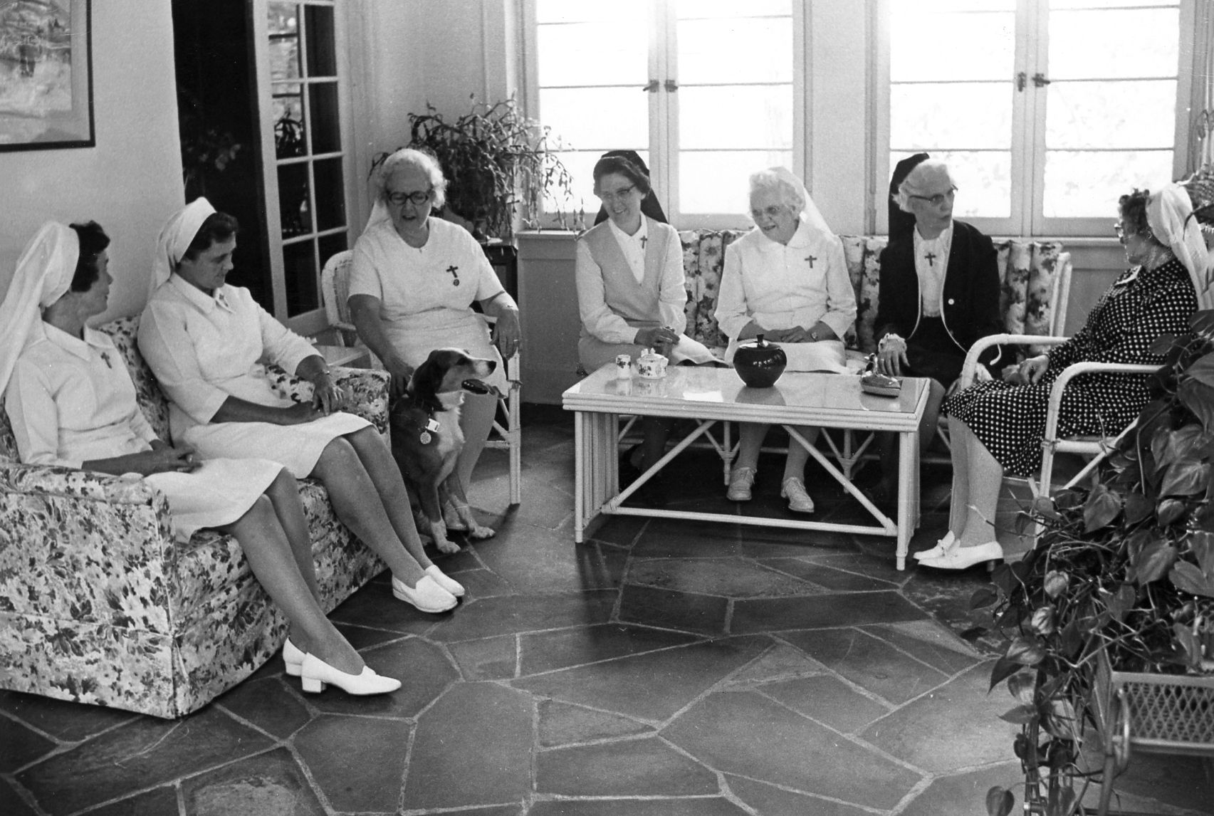 ... Catherine Kennedy; Consuela Haggerty; Ann Marie Rene; And Mary Benignus  Ou0027Sullivan In The St. Joseph Of The Pines Convent Late 1970s To 1980s
