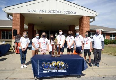 West Pine Middle Eighth Grade Odyssey Team 2020
