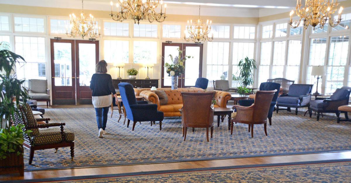 Carolina Hotel lobby