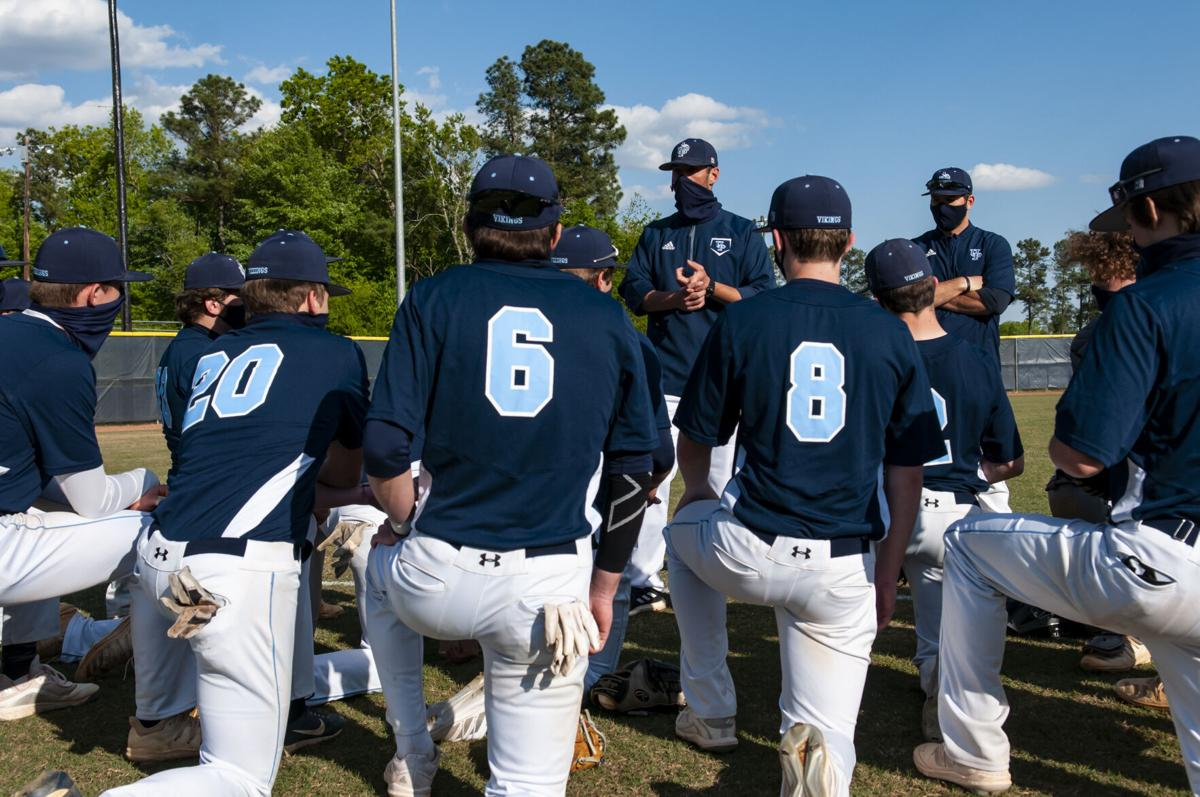Union Pines hosts Pinecrest in baseball scrimmage
