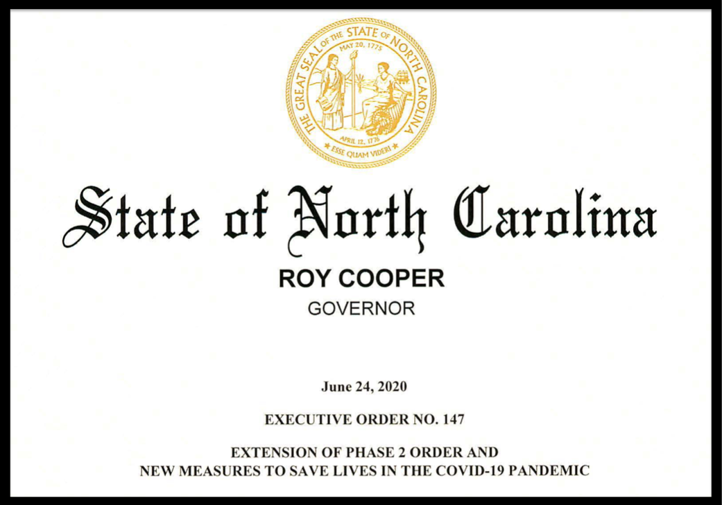Read the Order Requiring Face Coverings in North Carolina