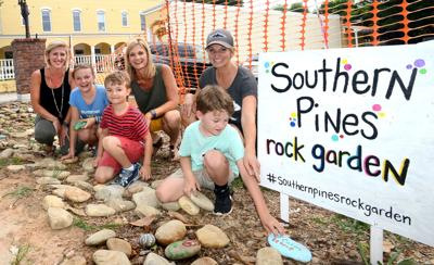 Southern Pines Rock Garden Kick Off