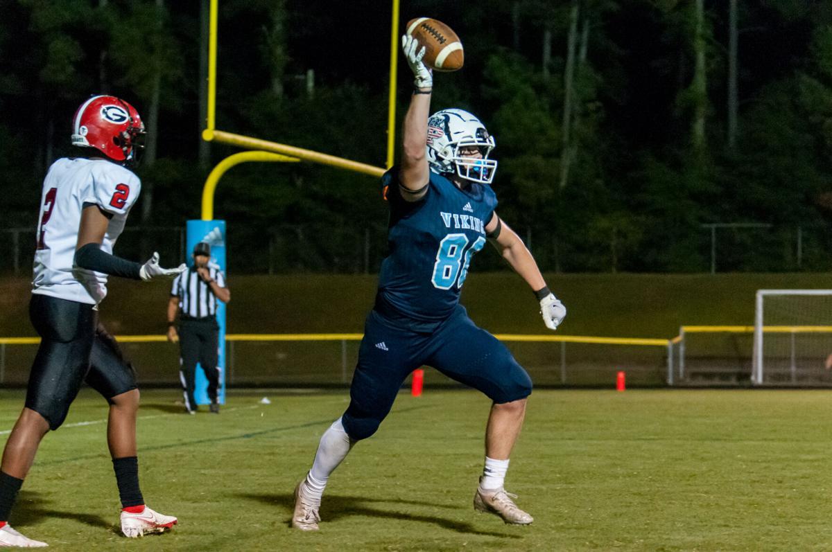 Union Pines defeats Graham, 55-18